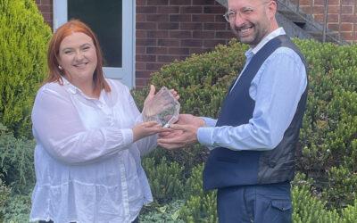 ESET Presentation – 20 year service award
